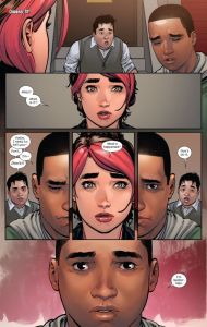 Miles Morales reveals to katie that he's spider-man